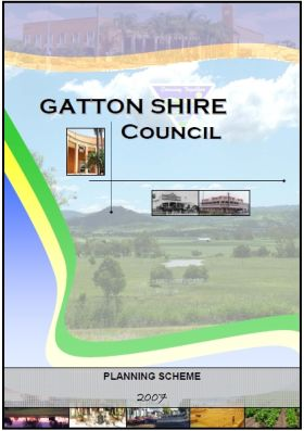 Gatton Planning Scheme adopted 15-06-07 v2-1