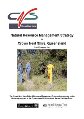 Natural Resource Management Strategy for Crows Nest Shire