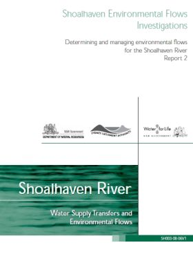 Shoalhaven Environmental Flows Investigations