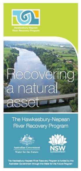 Hawkesbury-Nepean River Recovery Program (HNRRP) Introductory Brochure
