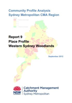 SMCMA Community Profile Analysis - Report 9 Western Sydney Woodlands