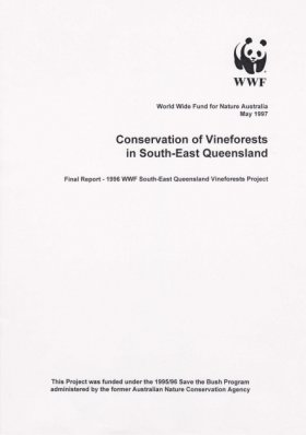 Conservation of Vineforests in South-East Queensland