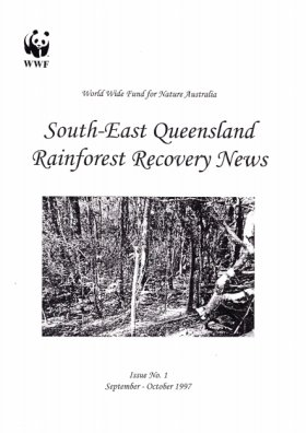 SEQ Rainforest Recovery News Issue 1