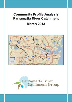 Community Profile Analysis Parramatta River Catchment